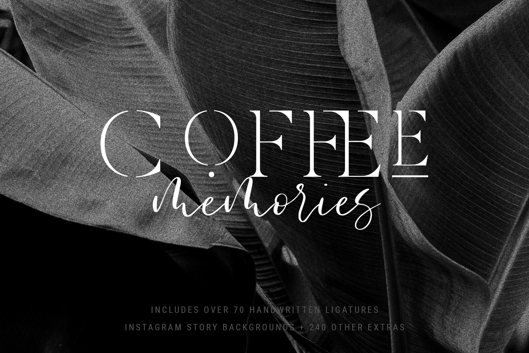 Verona Amore - Modern Serif & Script Font Duo & Extras example image 11