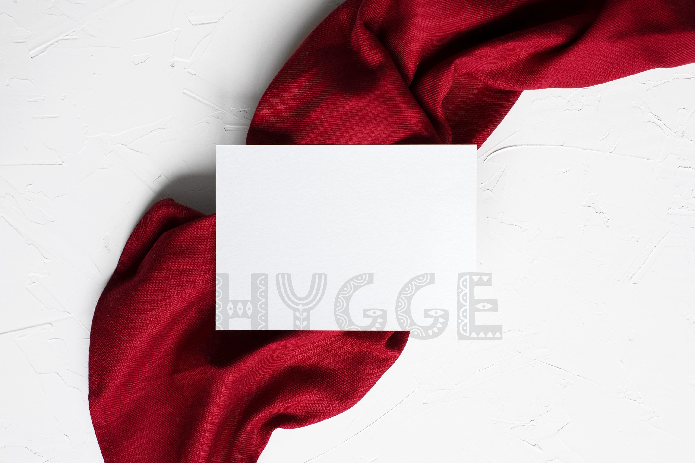 Card Mockup, Invitation Frame Mockup, Frame Mockup, Postcard example image 1