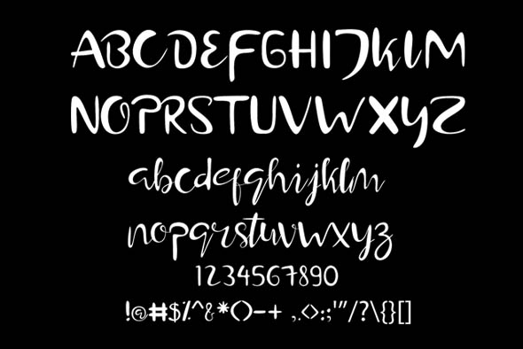 Hamburger Typeface example image 8