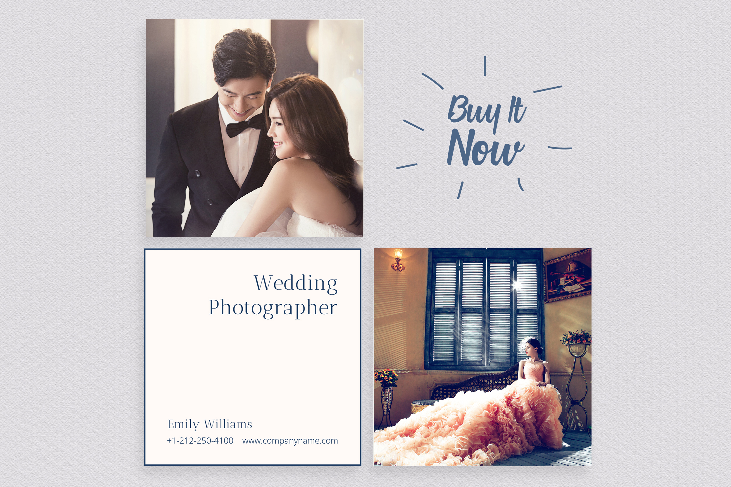 Wedding Photography Business Card example image 7