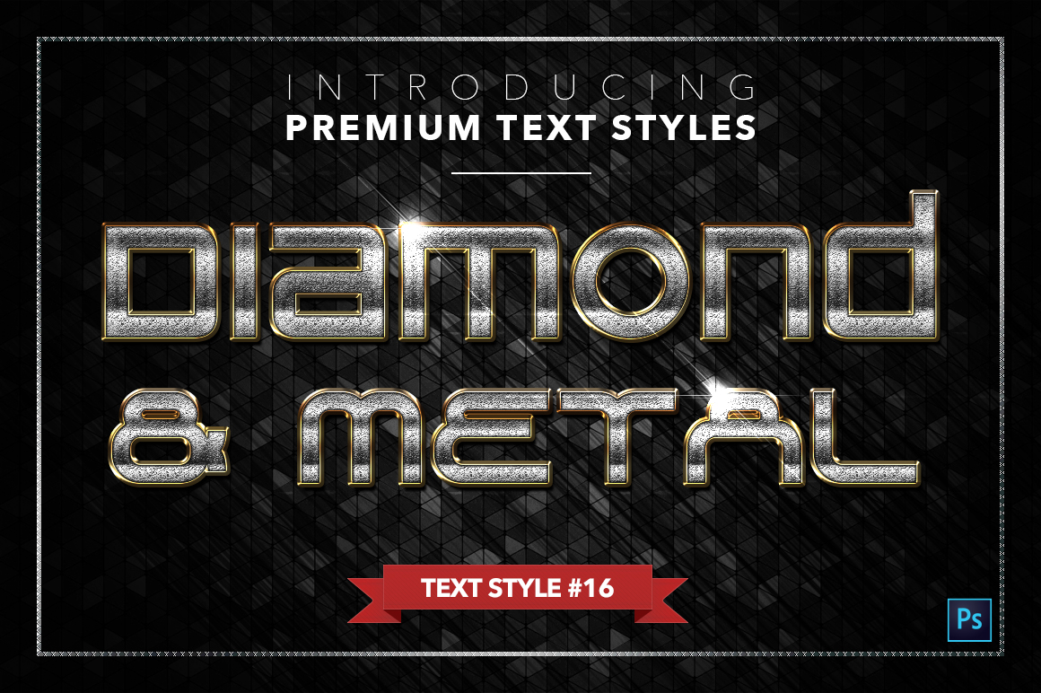Diamond & Metal #3 - 18 Text Styles example image 17