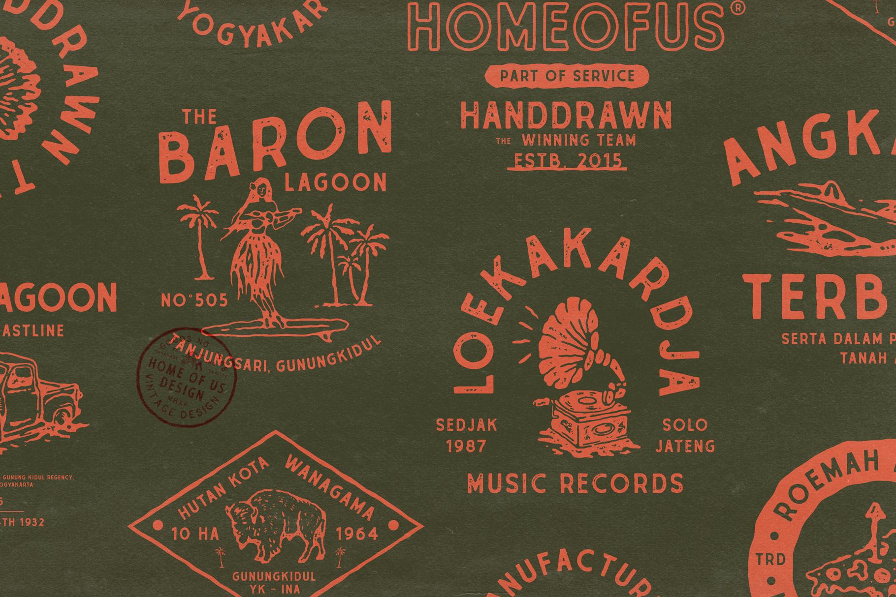 Suhanto Handdrawn Typeface example image 5