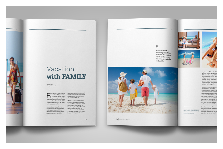 Multipurpose Magazine Template example image 12