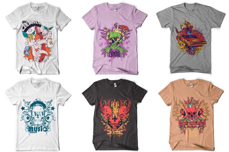 100 T-shirt Designs Vol 4 example image 12