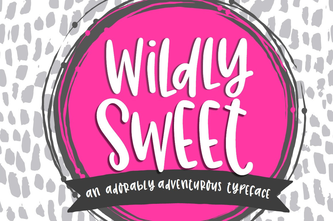 Wildly Sweet Handwritten Font example image 1