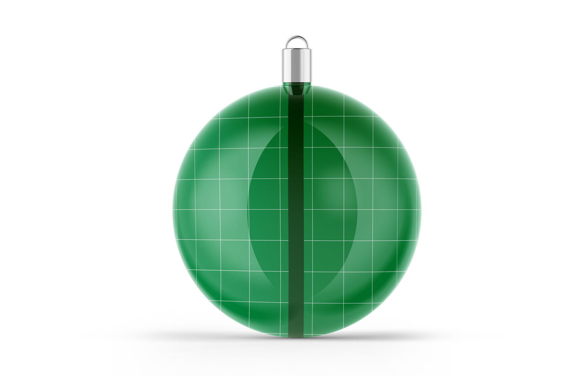 Glossy Christmas Ball Mockup example image 2