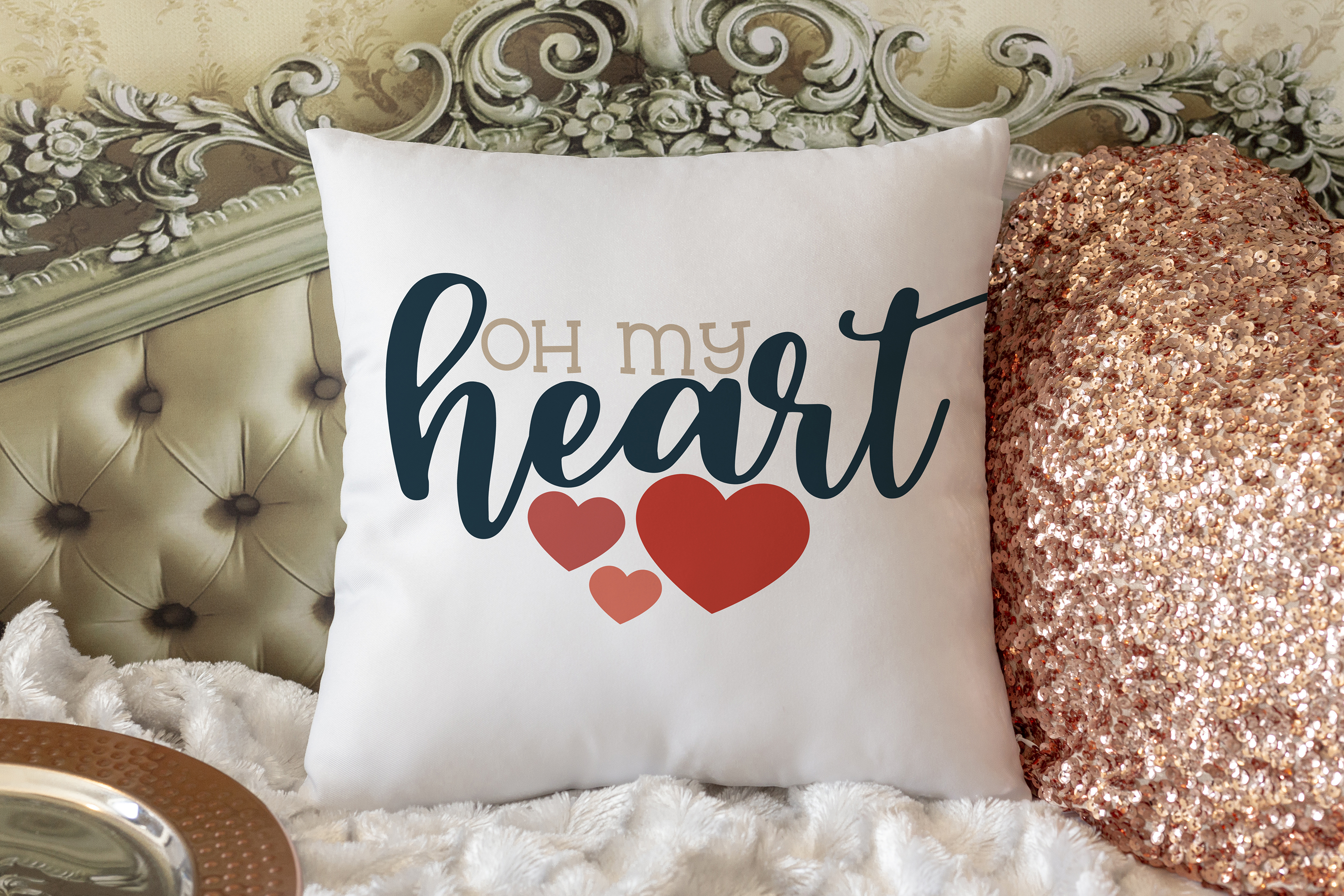 Oh My Heart - A Valentine's Day SVG example image 2