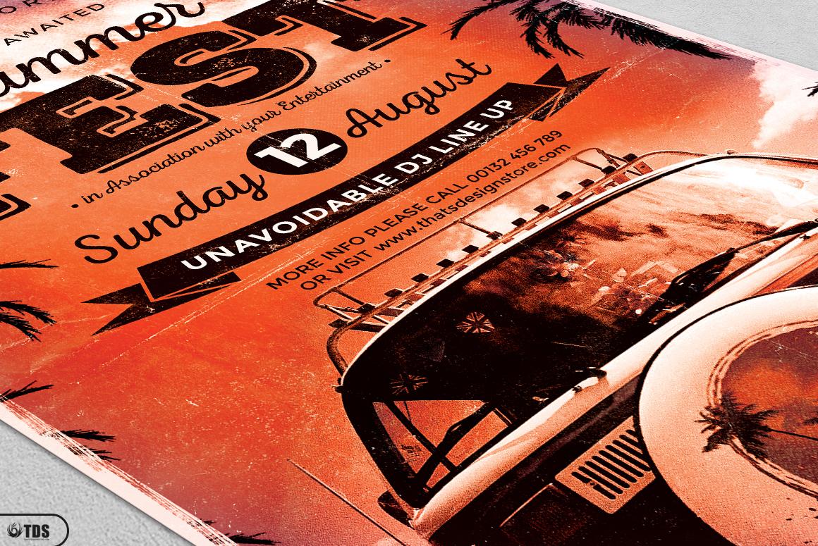 Summer Fest Flyer Bundle example image 10