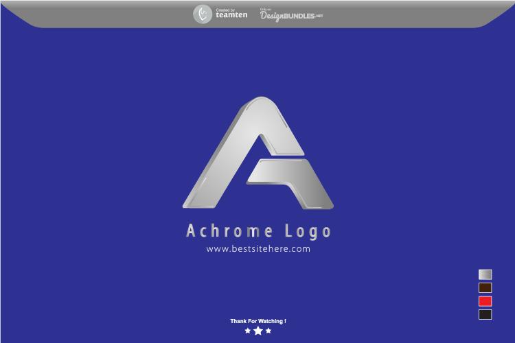 Achrome Logo Concept example image 2