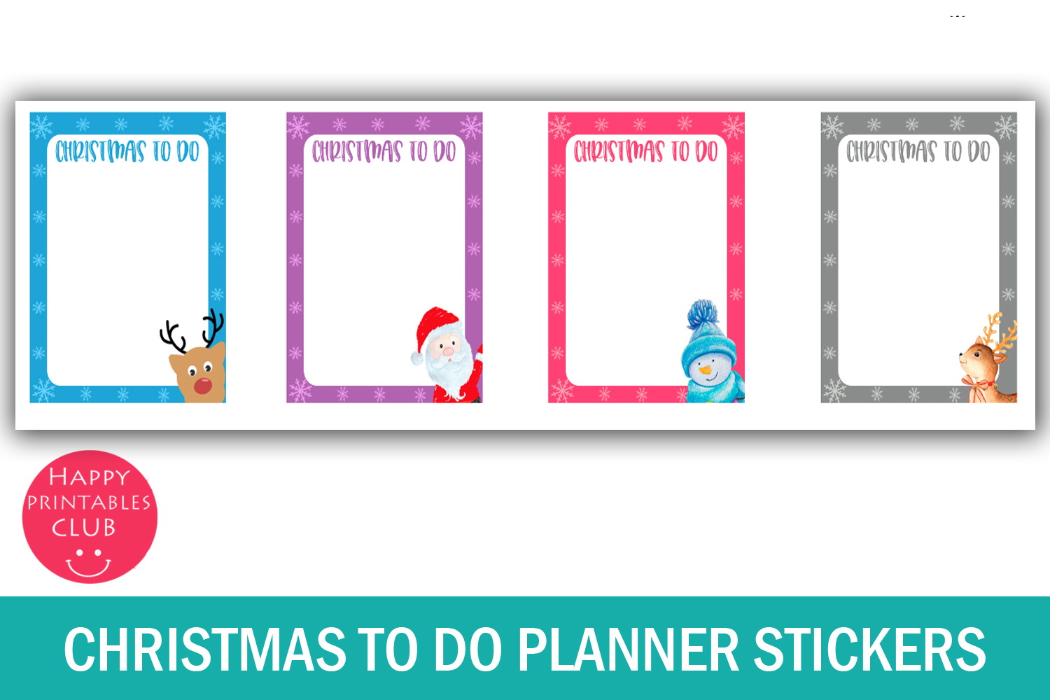 Christmas To Do List Planner Stickers-Christmas Stickers example image 2