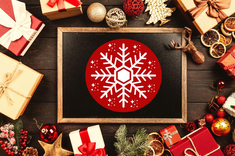 Christmas Clipart- Christmas Overlays-Holiday Graphics example image 4