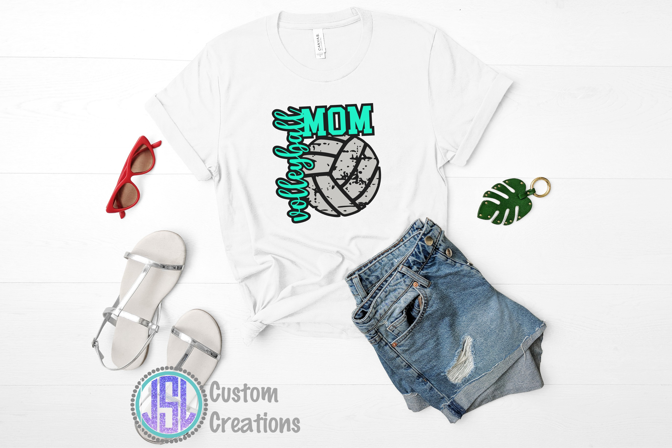 Volleyball Bundle Vol 1 |Set of 10 | SVG DXF EPS PNG example image 10