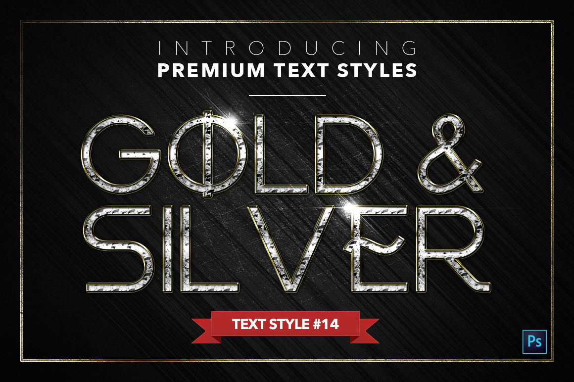 Gold & Silver #5 - 15 Text Styles example image 15