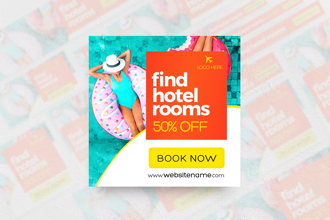 Hotel Banner Ads - 18 Sizes example image 2