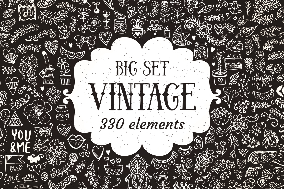 330 Elements Big Vintage Collection example image 1