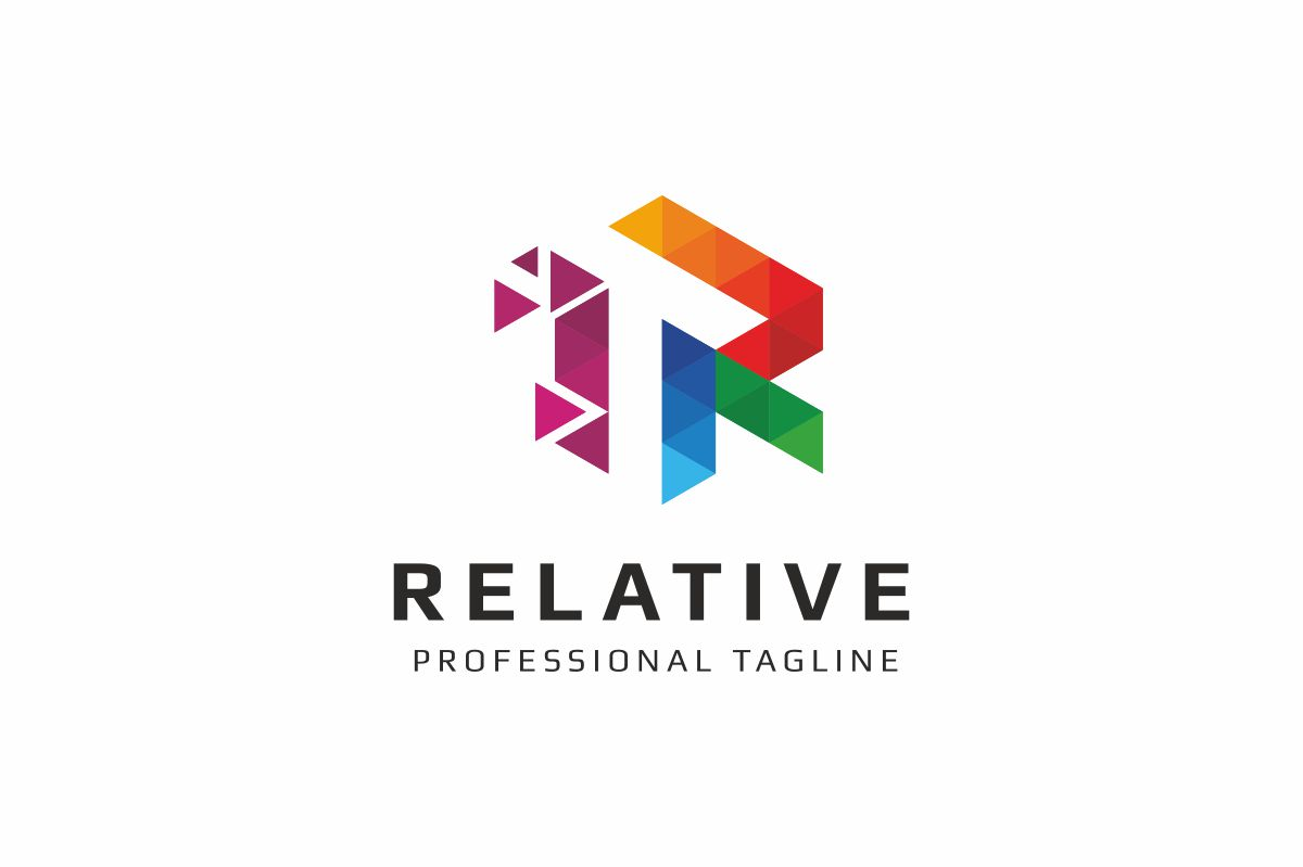 Relative R Letter Logo example image 1