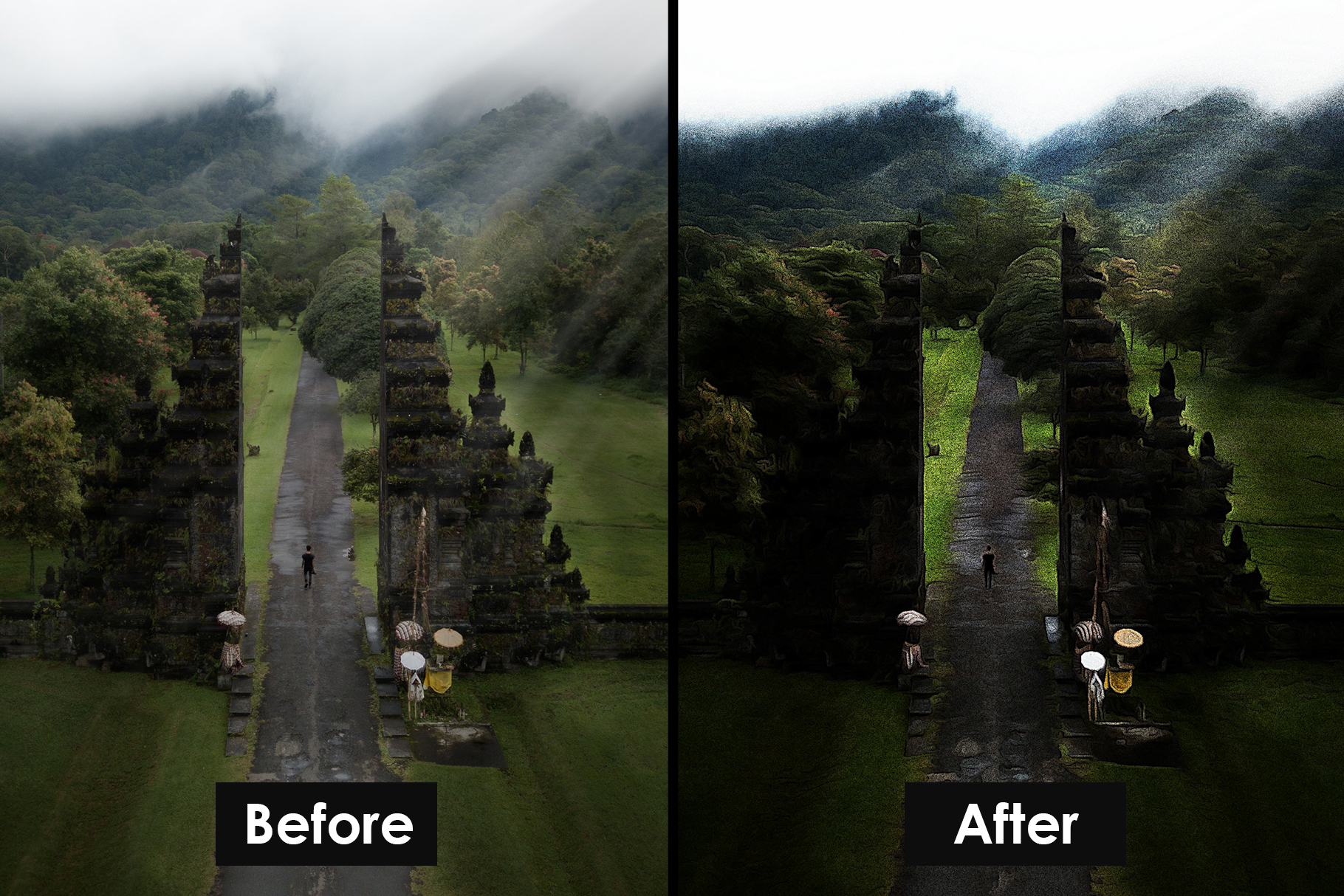 Airbrush Poster Photoshop Action example image 10