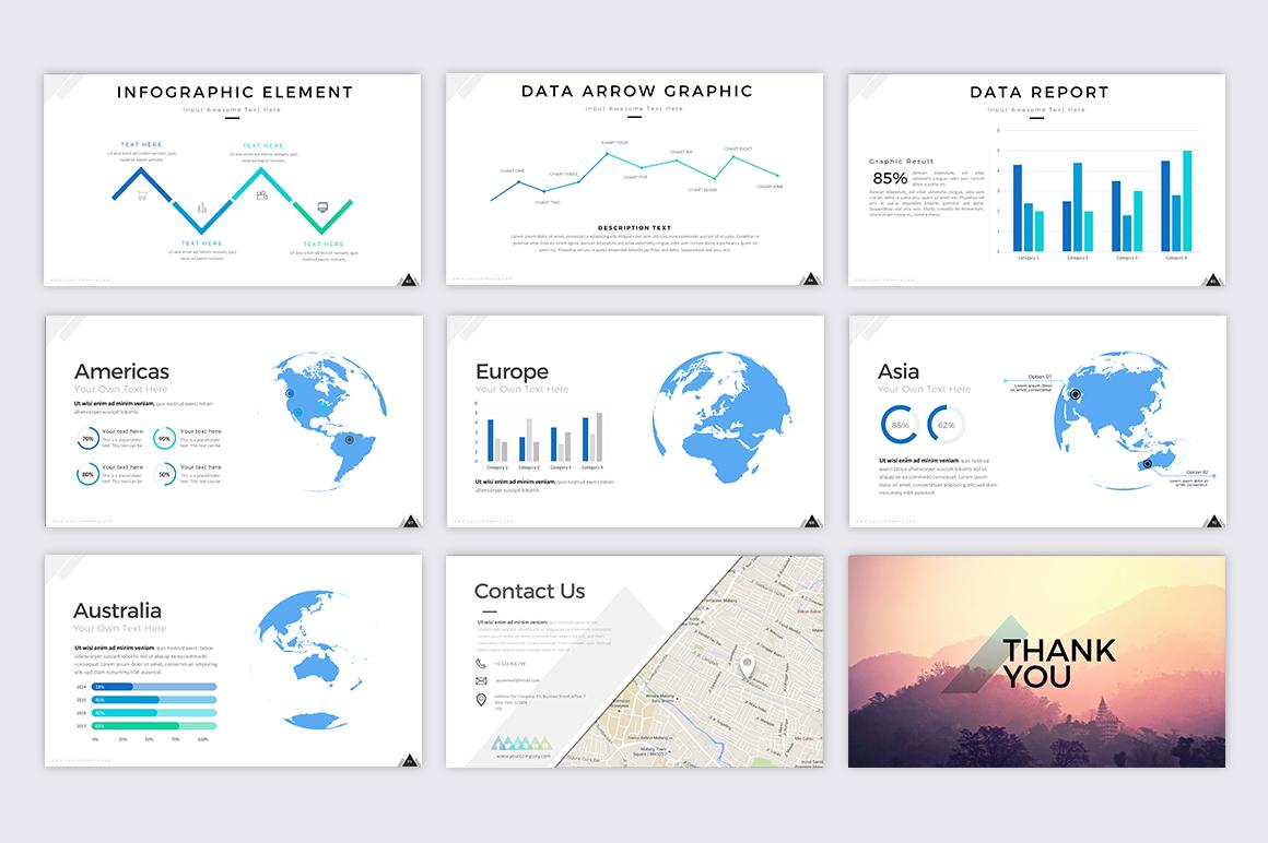 Mountain - Creative Presentation example image 7