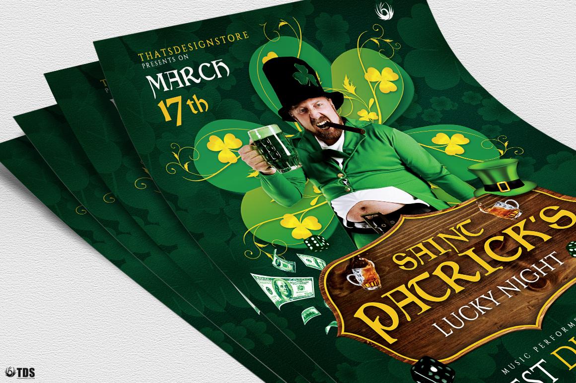 Saint Patricks Day Flyer Template V1 example image 5