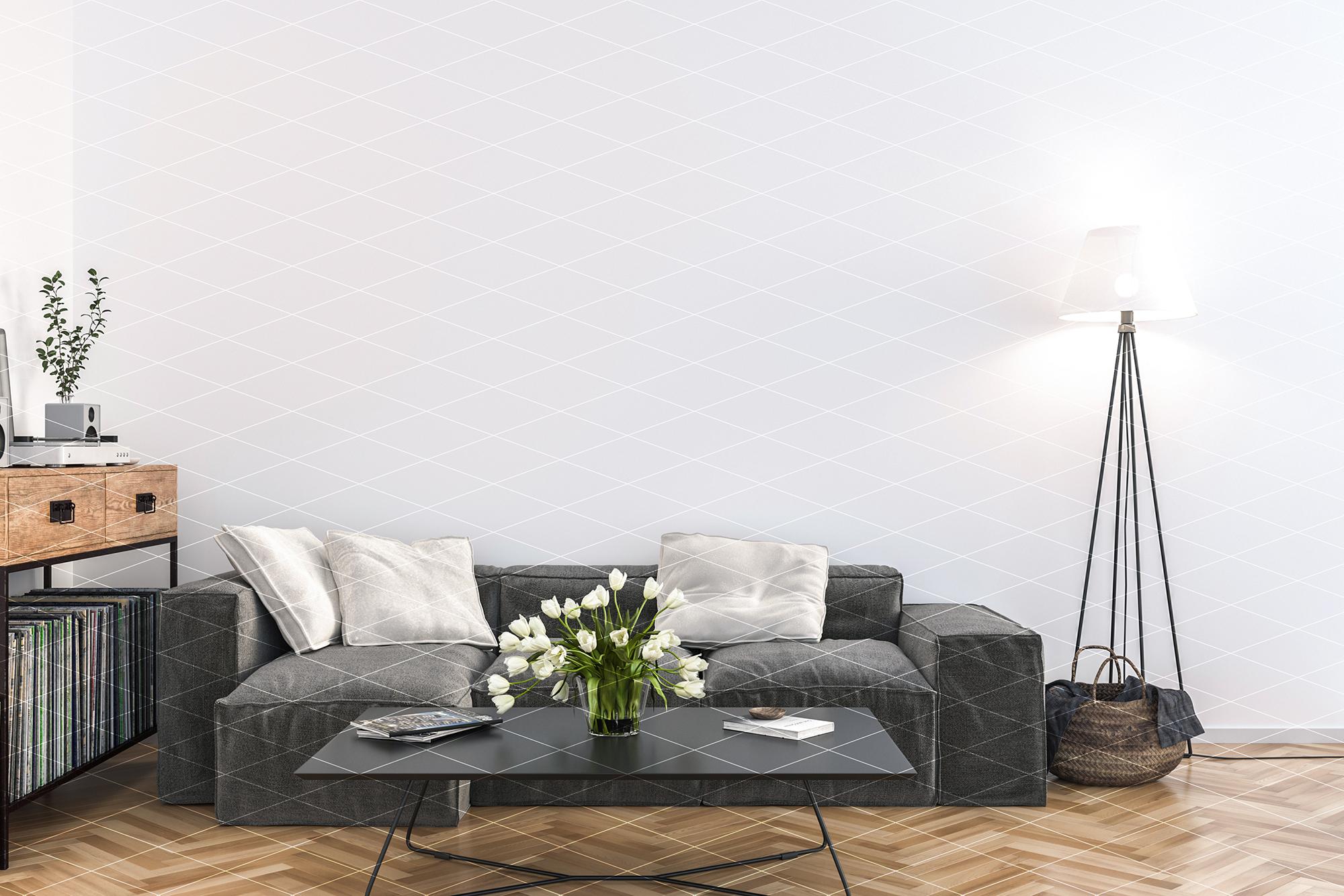 Frame mockup - horizontal & vertical frame mock up example image 2