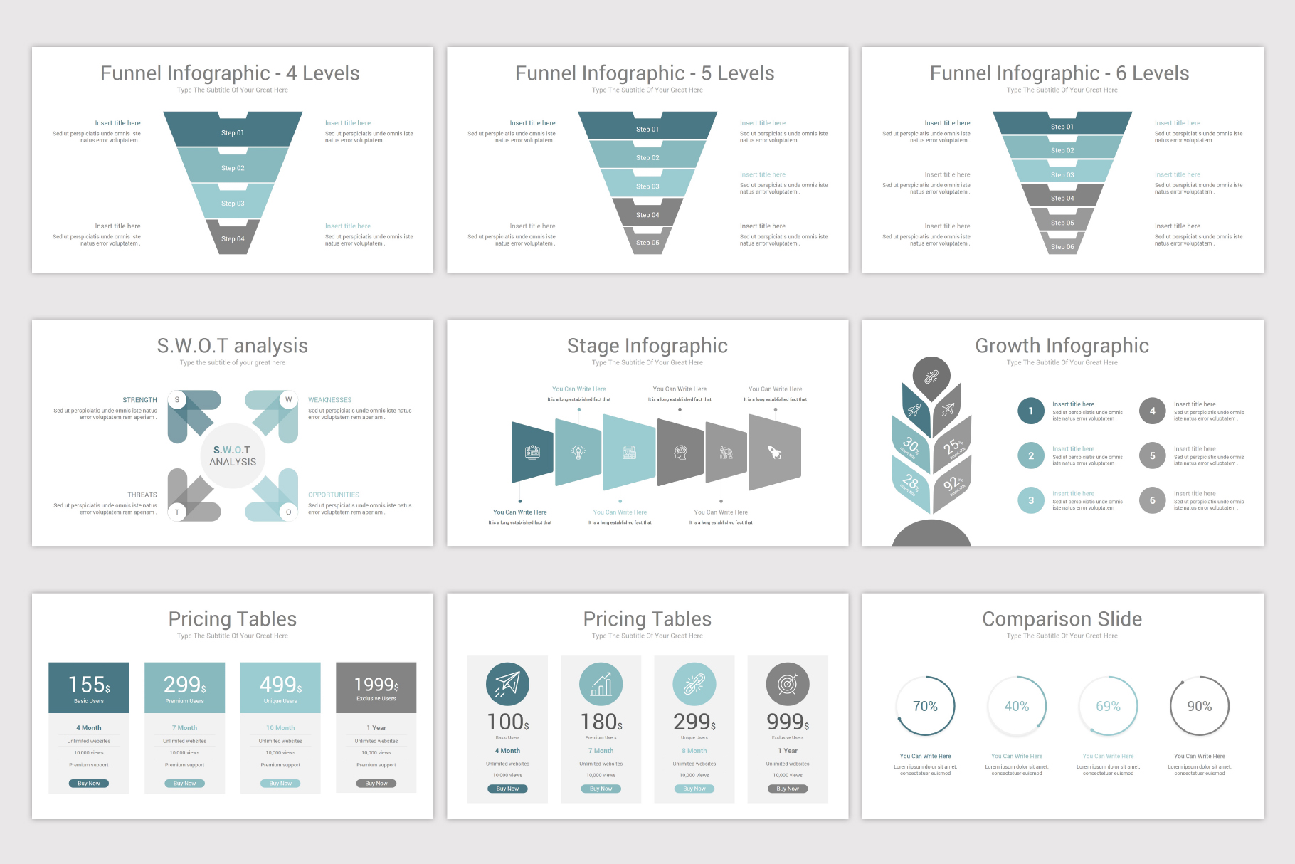 Simplicity PowerPoint Template example image 19