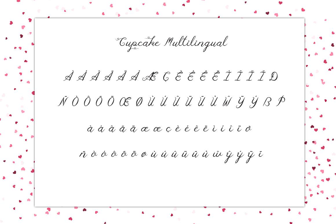 Cupcake Multilingual Script Font example image 3