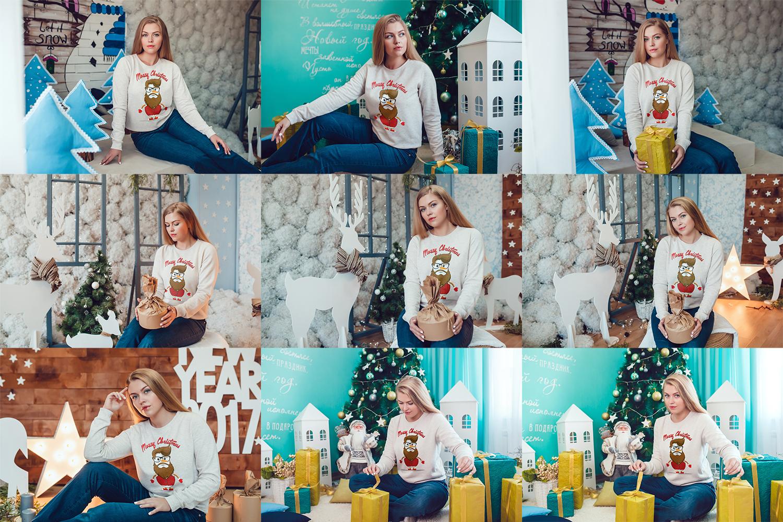 Christmas Sweatshirt Mock-Up Vol.2 example image 6