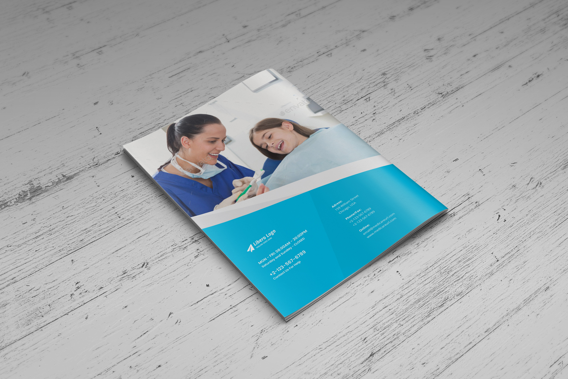 Medical HealthCare Brochure v6 example image 8