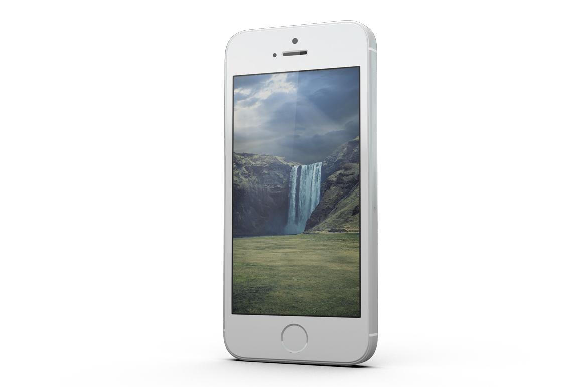iPhone SE Mockup example image 3