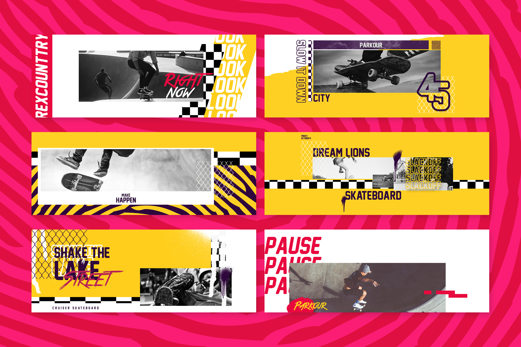 Skate Facebook Cover Templates example image 5