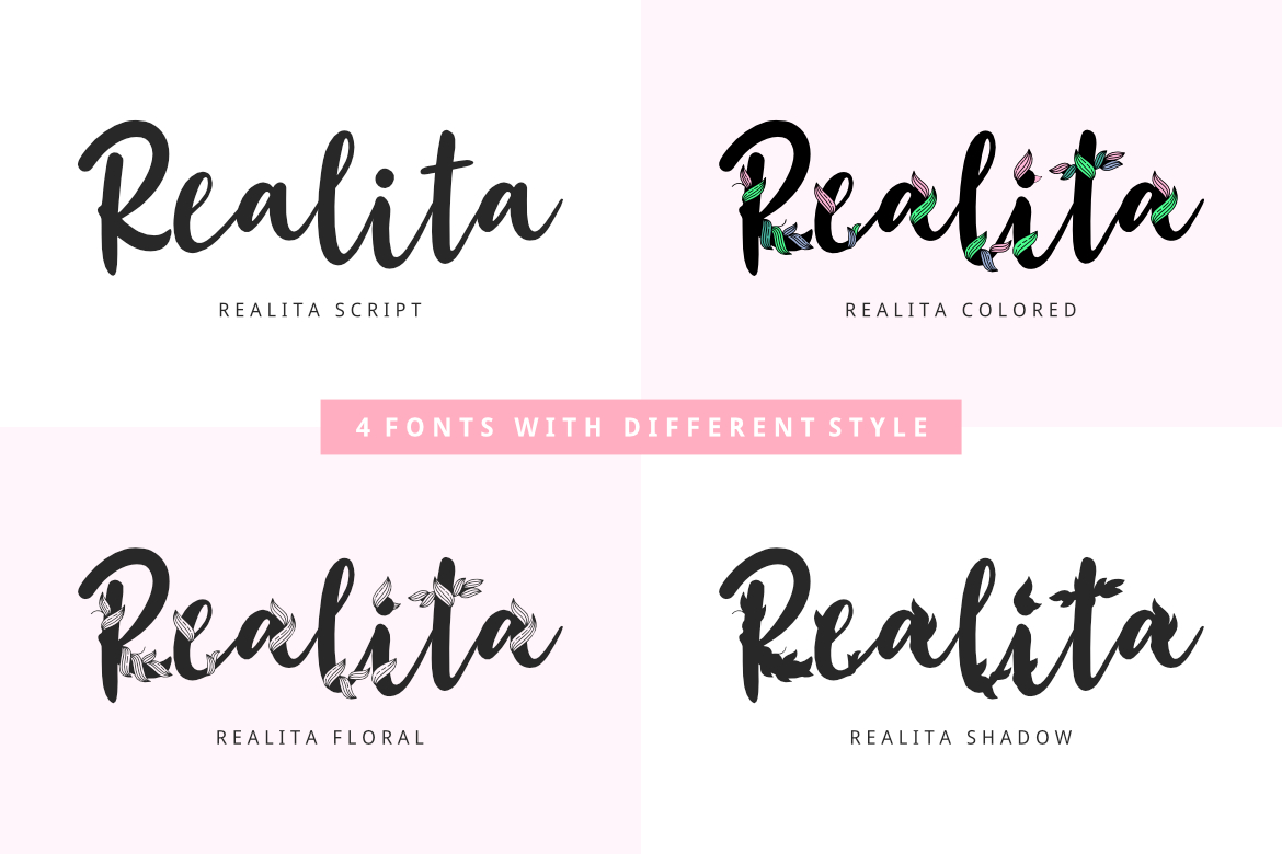 Unique Font Bundles by YandiDesigns example image 3