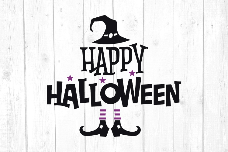 Happy Halloween Svg, Halloween Svg, Witch Svg, Svg Files example image 1