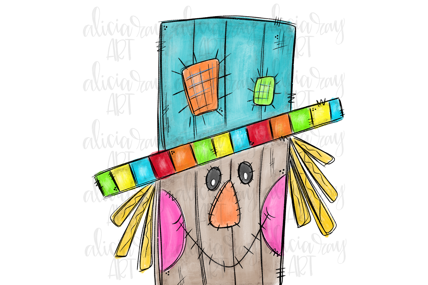 Scarecrowsc Sublimation PNG Digital example image 1