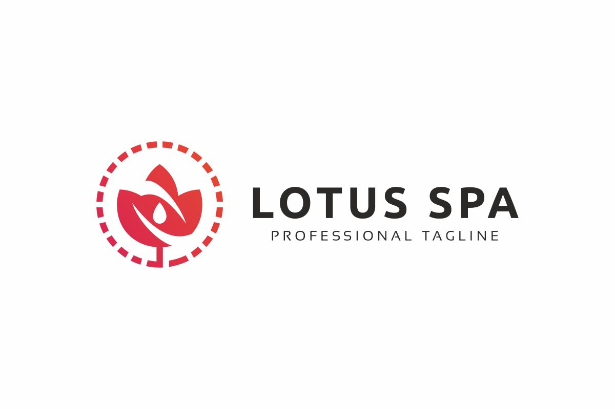 Lotus Spa Logo example image 3