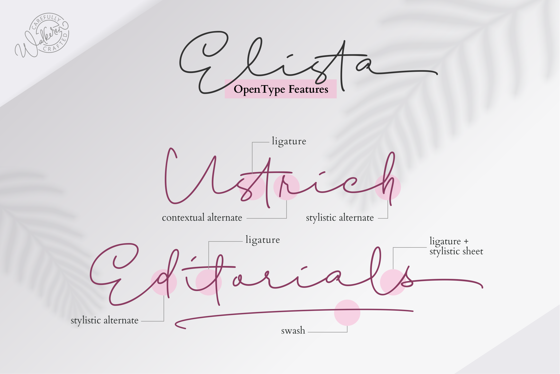 Elista - A Casual Handwritten Font example image 13