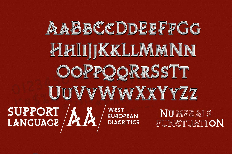 ChiQuel Serif Vintage example image 7