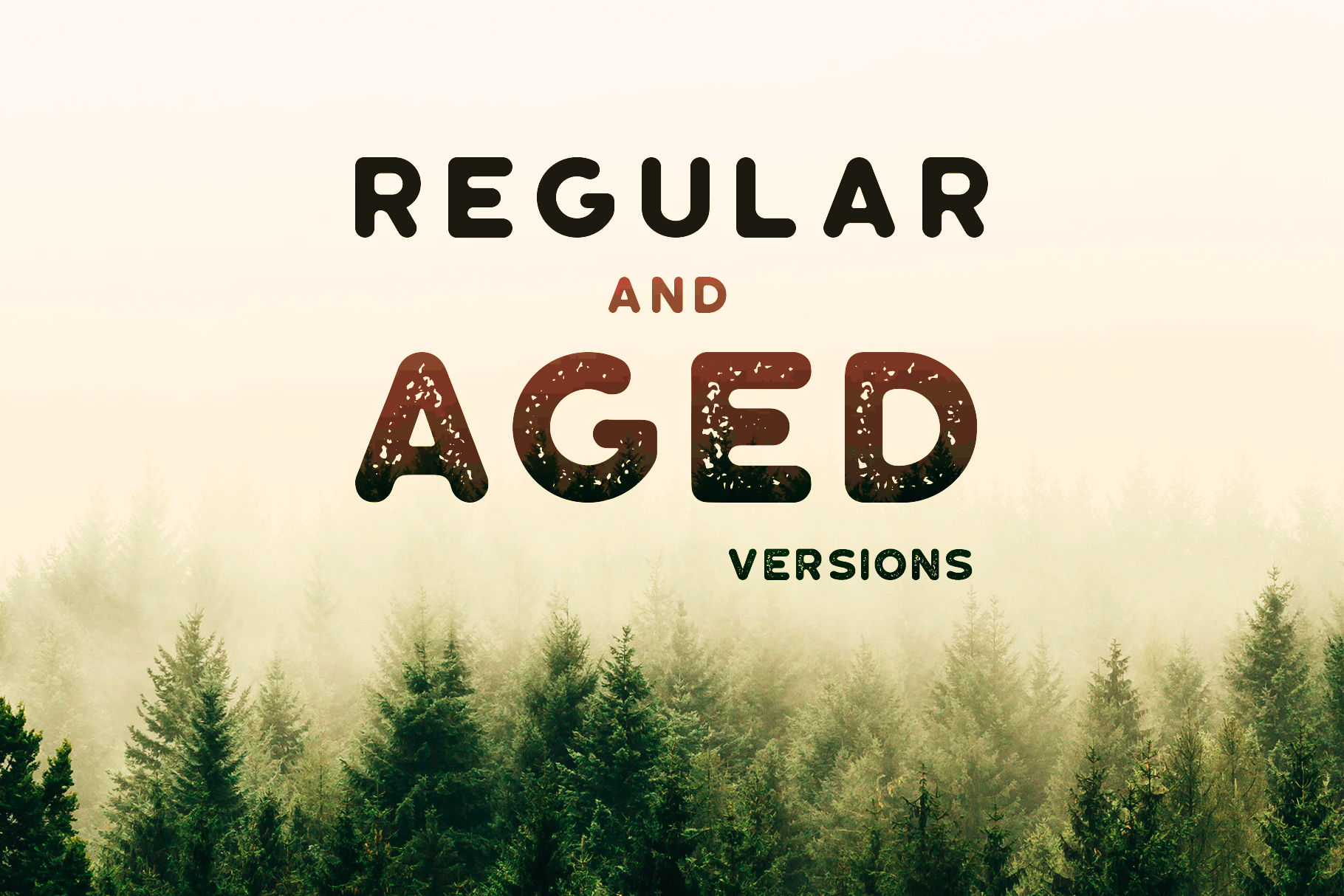 Roundhouse - Rounded Vintage Typeface example image 3
