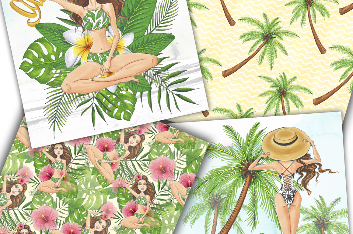 Summer Time Hand-painted Collection example image 9