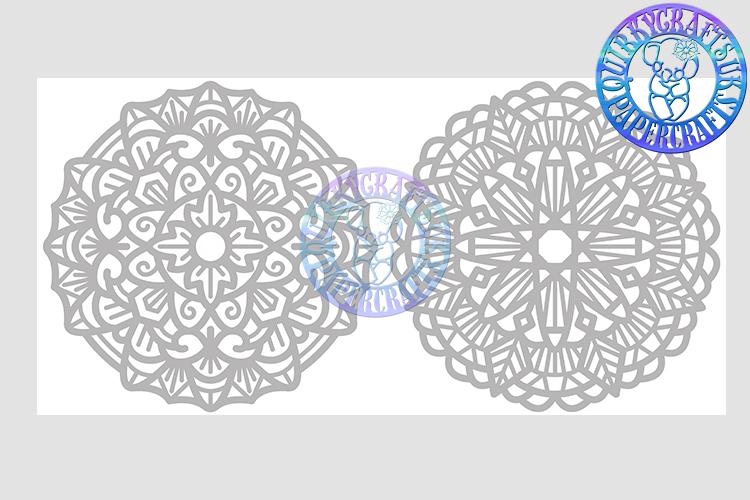 Big Bundle JULY 2018 - 31 Papercutting Templates example image 18