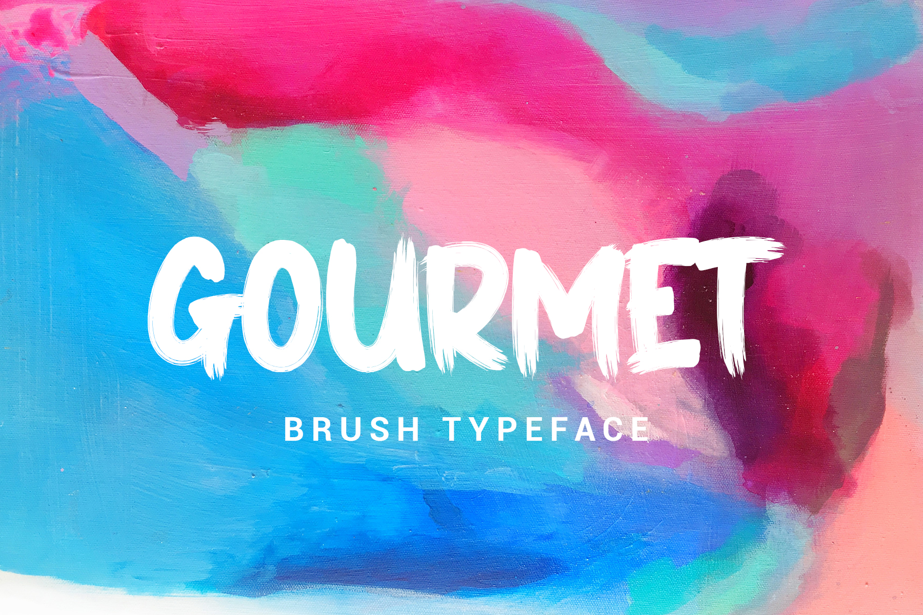 GOURMET // STRONG BOLD FONTS example image 1