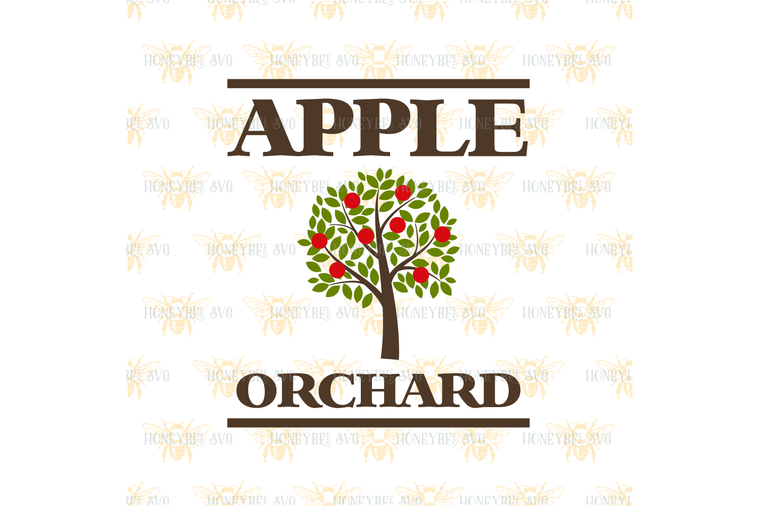 Apple Orchard Country Sign svg example image 2