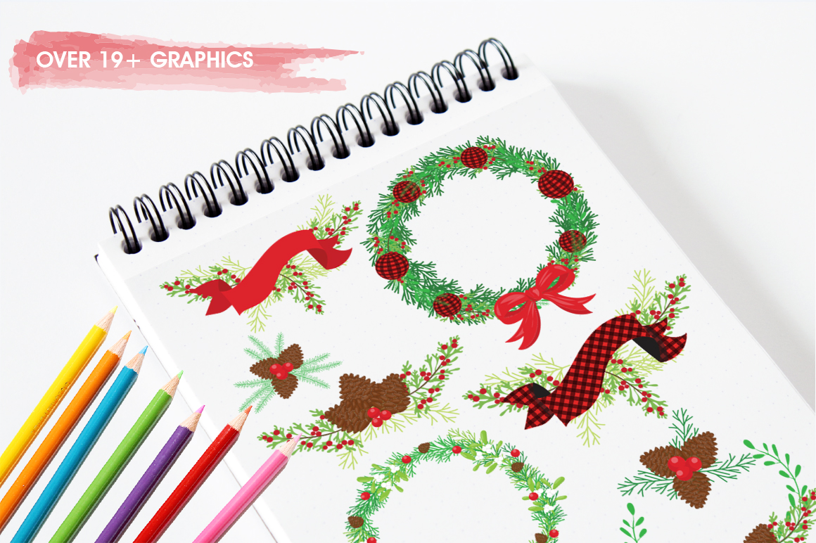 Merry Christmas graphic and illustrations example image 5