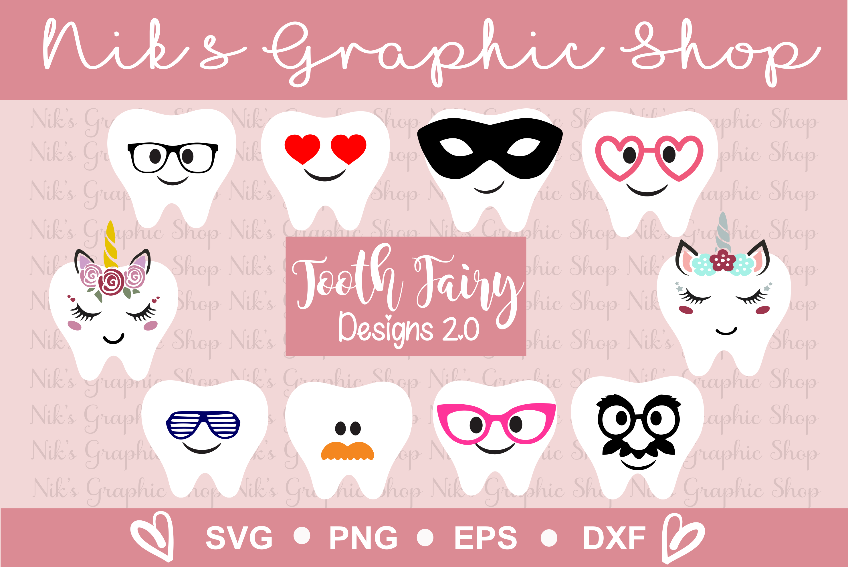 TOOTH FAIRY SVG, tooth fairy bag, Diy, Tooth Fairy Bags example image 1