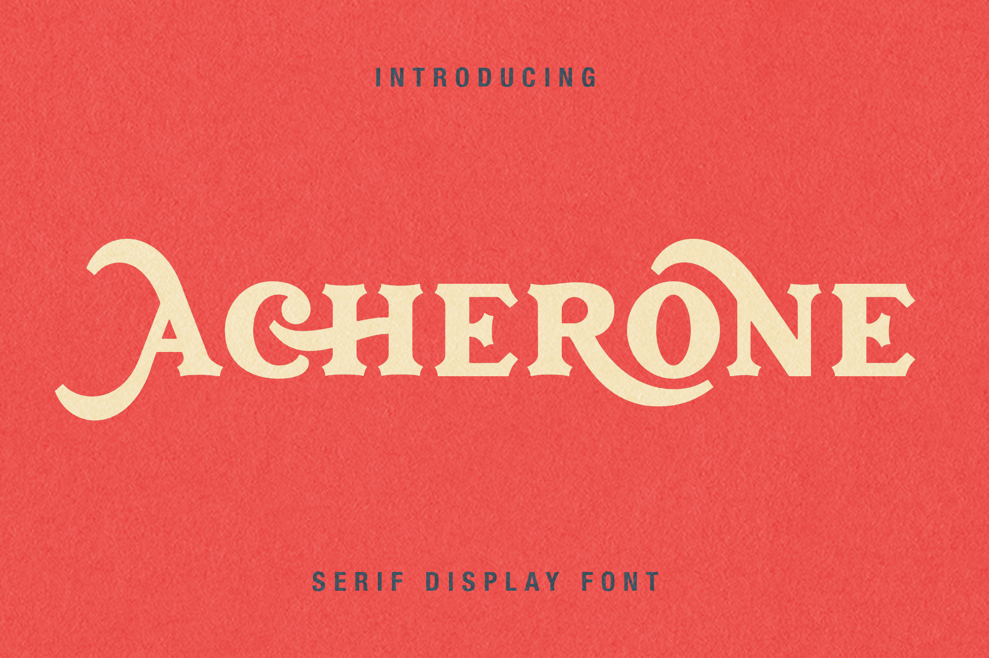 Archerone - Serif Display Font example image 1