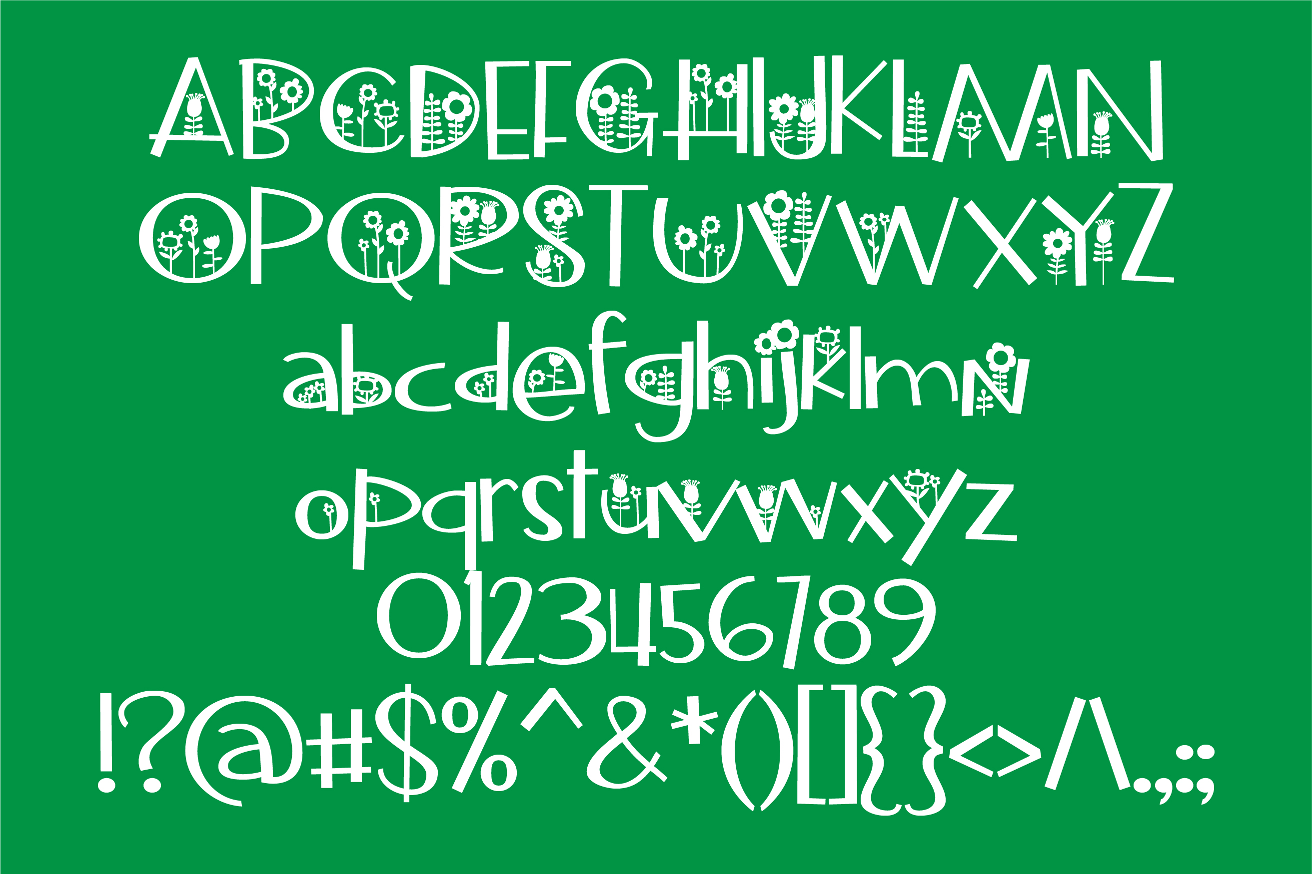 Sidewalking Font Duo example image 9