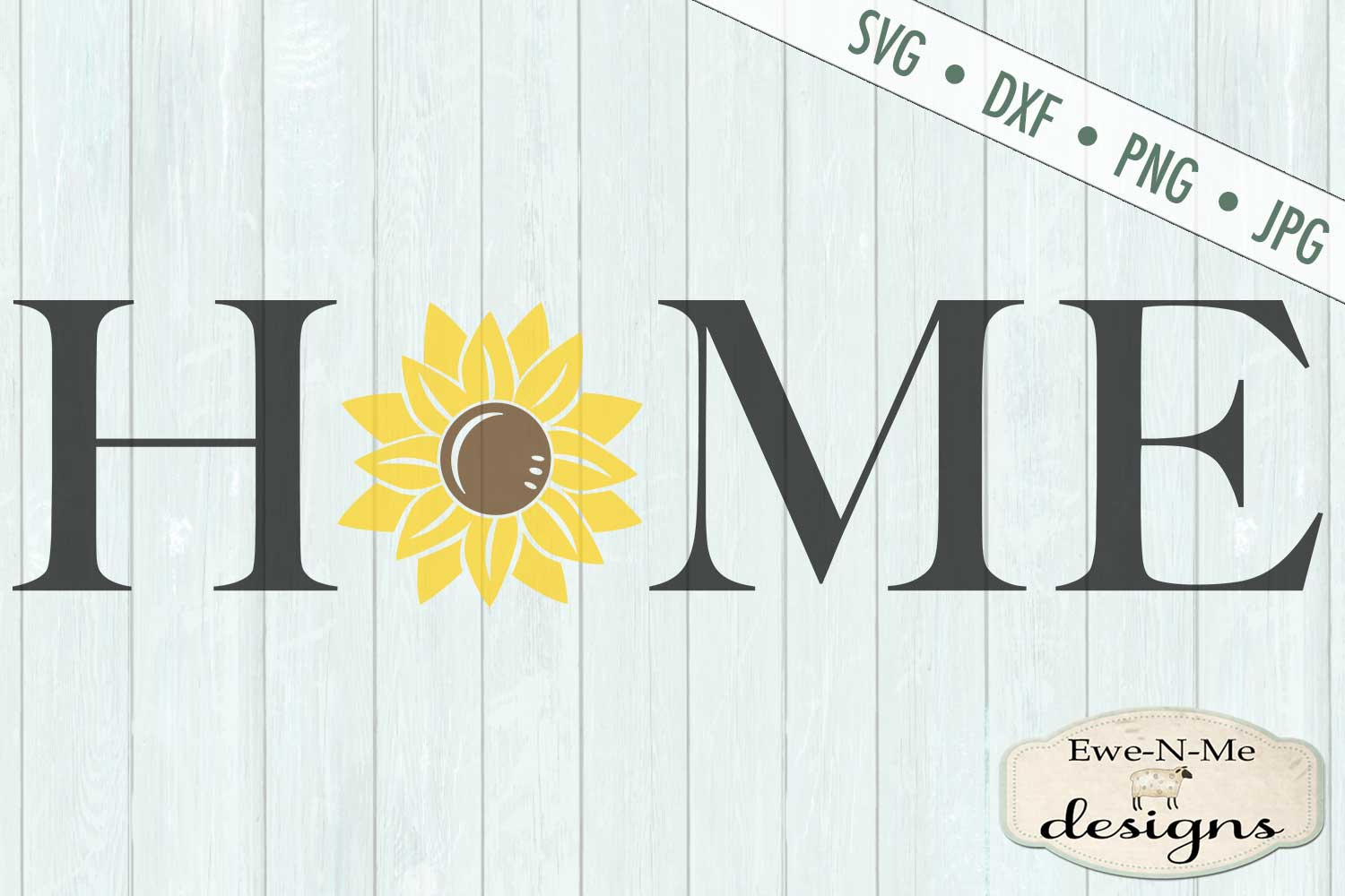 Home Sunflower SVG DXF File example image 2