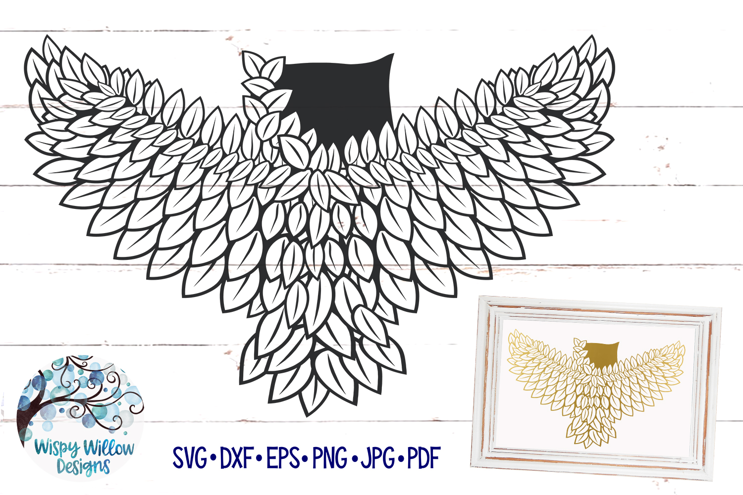Intricate Owl SVG Cut File example image 4
