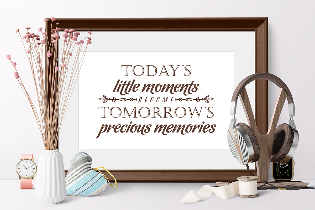Love Family SVG Quote cut file example image 3
