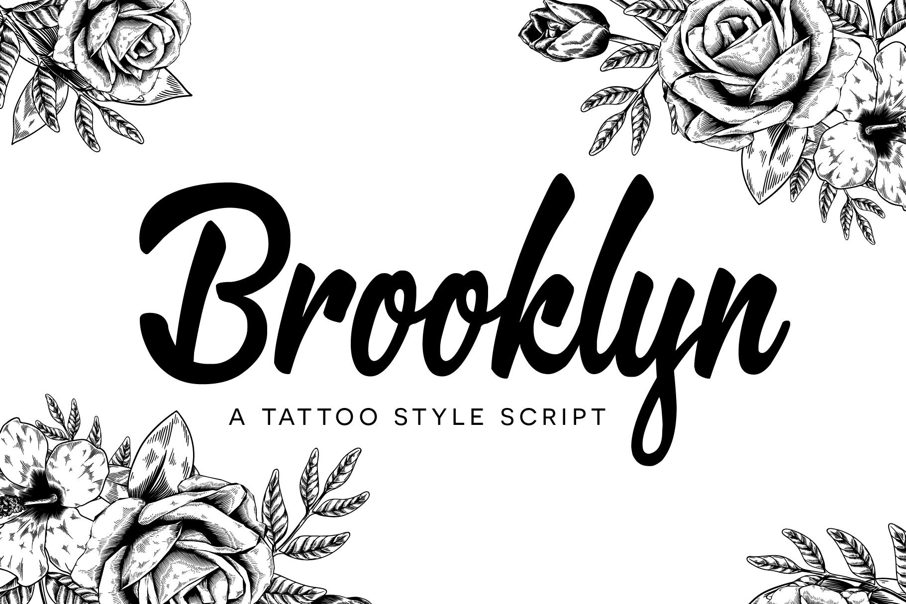 Brooklyn Script example image 1