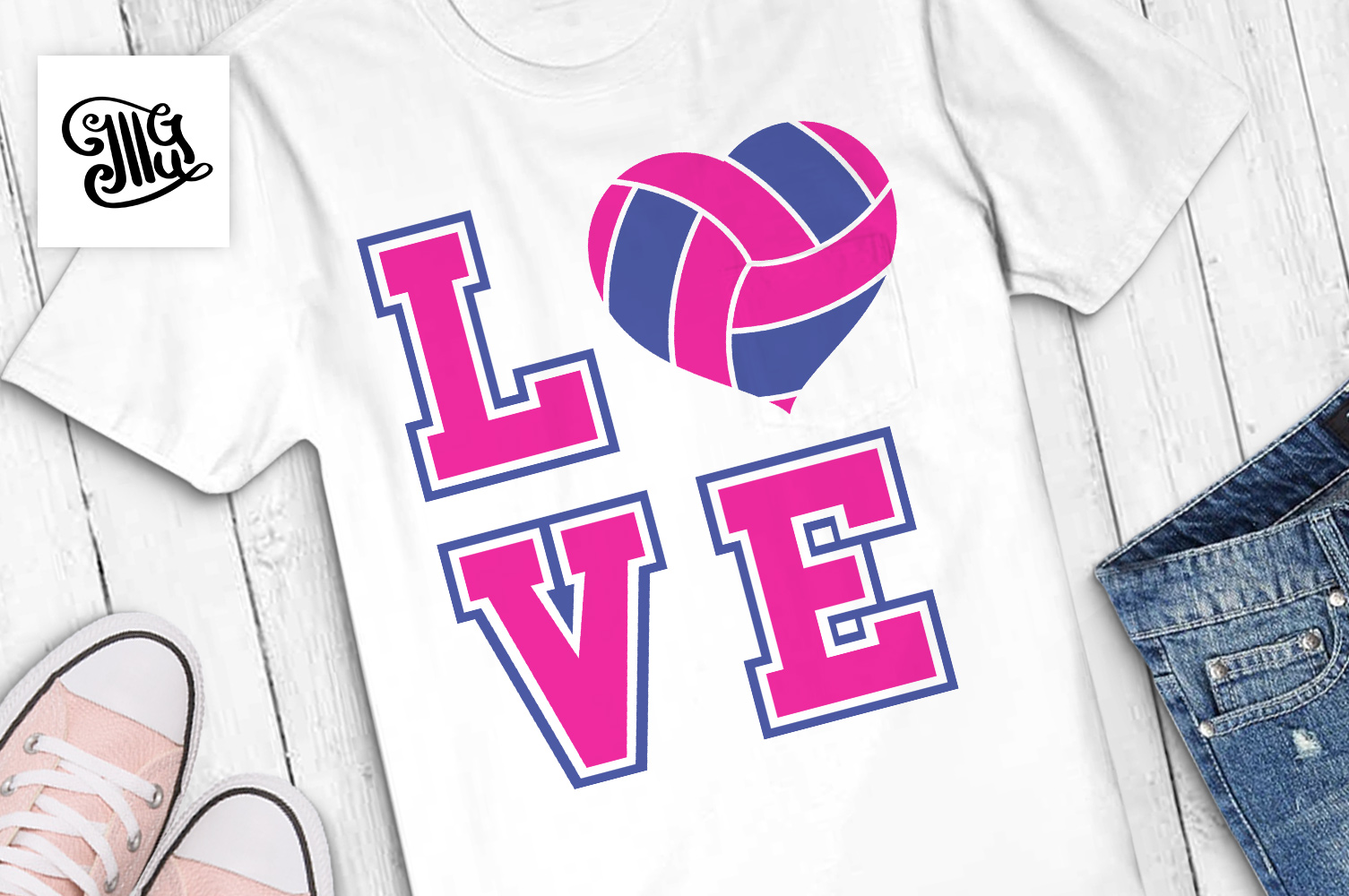 Volleyball svg bundle example image 2